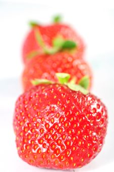 Free Strawberries Royalty Free Stock Images - 19814359