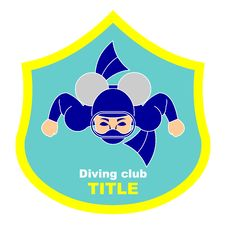 Free Logo Diving Club Stock Photos - 19814383