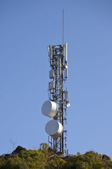 Free Microwave Communication Tower Stock Photos - 19814833