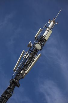 Free Telecommunication Tower Stock Image - 19814861