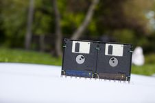 Free Floppy Disk Box Stock Images - 19814964