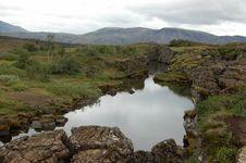 Free Volcano Rift At Thingvellir National Park, Iceland Royalty Free Stock Photos - 19817148