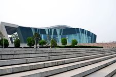 Free Grand Theatre In Wuhan Stock Photos - 19817253