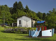 Free Children S Playground Royalty Free Stock Image - 19817376