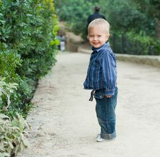 Free Boy In The Park Royalty Free Stock Photography - 19817887