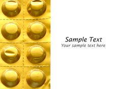 Free Pills Pack Isolated Royalty Free Stock Images - 19818349