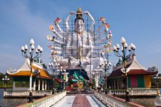 Free Guan Yin In Thai Temple Stock Photo - 19818700
