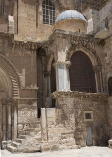 Church Of The Holy Sepulchre Royalty Free Stock Images