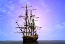 Free The  Ship Stock Photography - 19818872