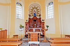 Free Chapel Interior Royalty Free Stock Image - 19818926
