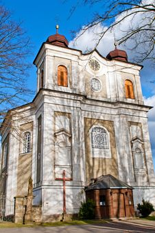 Free Church In Central Europe Stock Photos - 19819013