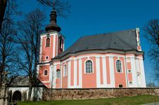 Free Church In Central Europe Stock Photography - 19819102