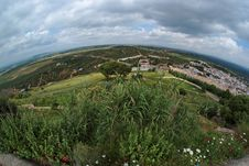 Free Rural Andalusian Landscape Seen By Fisheye Royalty Free Stock Photos - 19819998