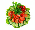 Free Vegetables On The Plate Royalty Free Stock Photo - 19821245