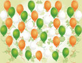 Free Saint Patrick S Day Background With Balloons Stock Image - 19823391