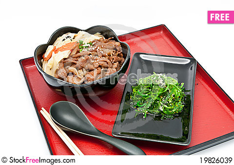 Free Japanese Cuisine Royalty Free Stock Images - 19826039