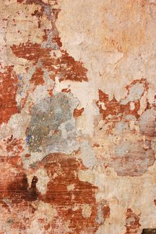 Free Wall With Chipped Paint Royalty Free Stock Images - 19820909