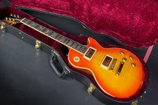 Free Sunburst Guitar Royalty Free Stock Images - 19820919