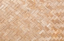 Free Texture Surface Of Native Thai Style Bamboo Wall Royalty Free Stock Image - 19821406