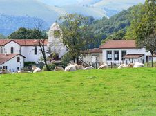 Free A Village In The Basque Country, France Royalty Free Stock Image - 19823216