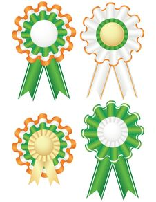 Free Saint Patrick S Day Badges Royalty Free Stock Photography - 19823227