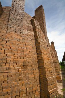 Free Brick Kiln Royalty Free Stock Image - 19824286
