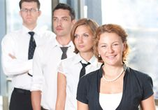 Group Of Officce Workers Stock Image