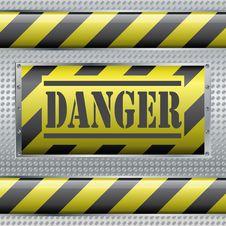 Free Danger Sign Royalty Free Stock Photos - 19824648