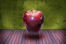 Free Surrealistic Apple In The Room Stock Photo - 19825600