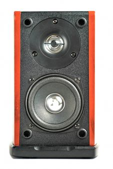 2 Way Speaker Front Royalty Free Stock Photo