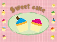 Free Sweet Cupcakes Royalty Free Stock Image - 19826786