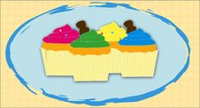 Muffins Royalty Free Stock Photos