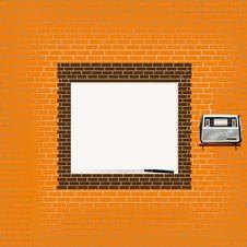 Free Textural Brick Wall Royalty Free Stock Photo - 19826895