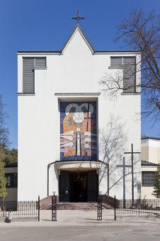 Free Modern Church. Stock Image - 19826991