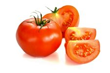 Free Isolated Vegetables - Tomatoes Stock Photography - 19827072