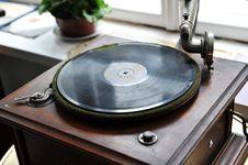 Free Vintage Gramophone Stock Image - 19827441
