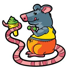 Free Rat Gym Stock Images - 19827484