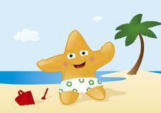 Free Vacation At Tropical Summer Beach Royalty Free Stock Photography - 19827767