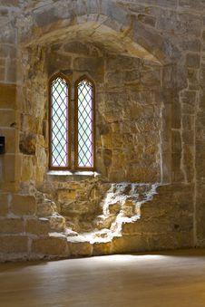 Free Old Leaded Abbey Window Stock Image - 19827811