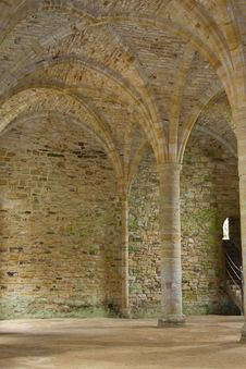 Free Old Abbey Stonework Stock Image - 19827861