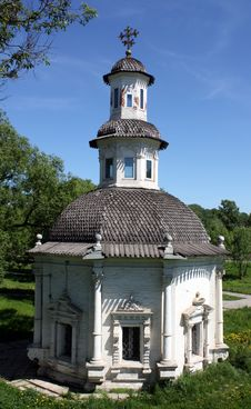 Free Chapel Of The Sergievsky Well Stock Photography - 19827922