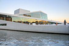 Free Oslo (Norway) - Opera Building Stock Photos - 19829883