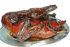 Braised Duck Royalty Free Stock Photo