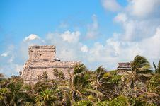 Free Tulum Maya Ruins Yucatan Peninsula,  Mexico. Stock Photography - 19829932