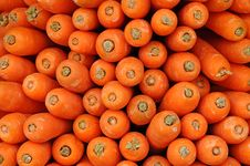 Free Red Carrots Royalty Free Stock Photo - 19829955