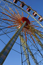 Free Ferris Wheel On A Sunny Day Royalty Free Stock Photos - 19832738