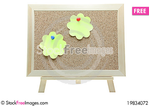 Free Note Cork Board Stock Photography - 19834072