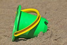 Free Plastic Toy Bucket Stock Images - 19830154