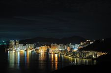 Free Hong Kong Night Scene Royalty Free Stock Photos - 19830818