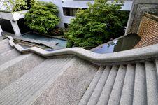 Winding Stairway Royalty Free Stock Image